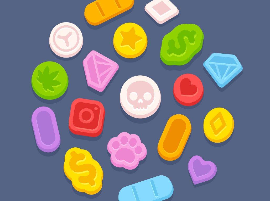 LSD tabs