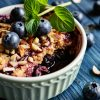 Fear-less Blueberry Cobbler