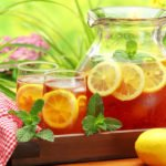 pitcher of tea