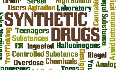 Word Graphic with Synthetic Drugs