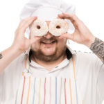 Chef loves donuts