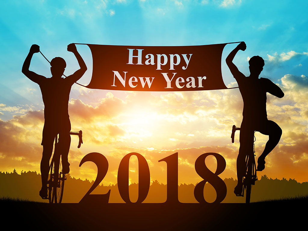 People riding bikes 2018