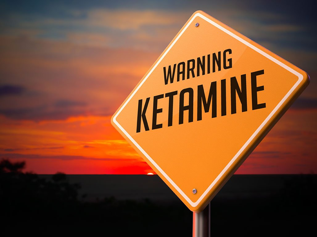 Ketamine Warning sign