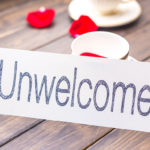 Unwelcome placecard