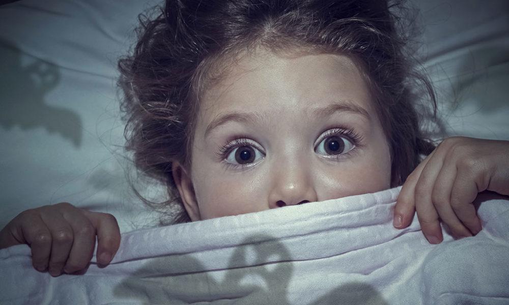 Fear keeps girl awake