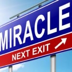 Sign miracle next exit