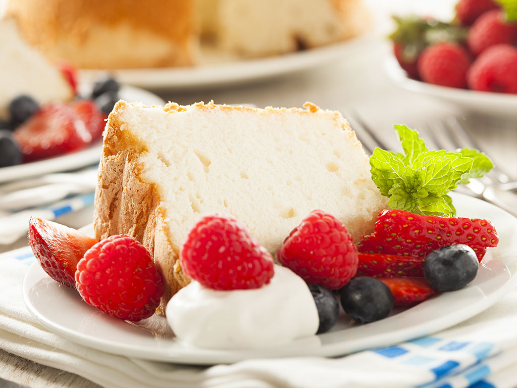 Higher Power Angel Food Cake