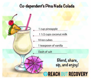 Nada Colada means not guilty