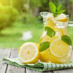 Pitcher of lemonade