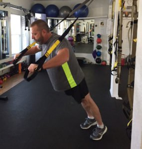 TRX exercise