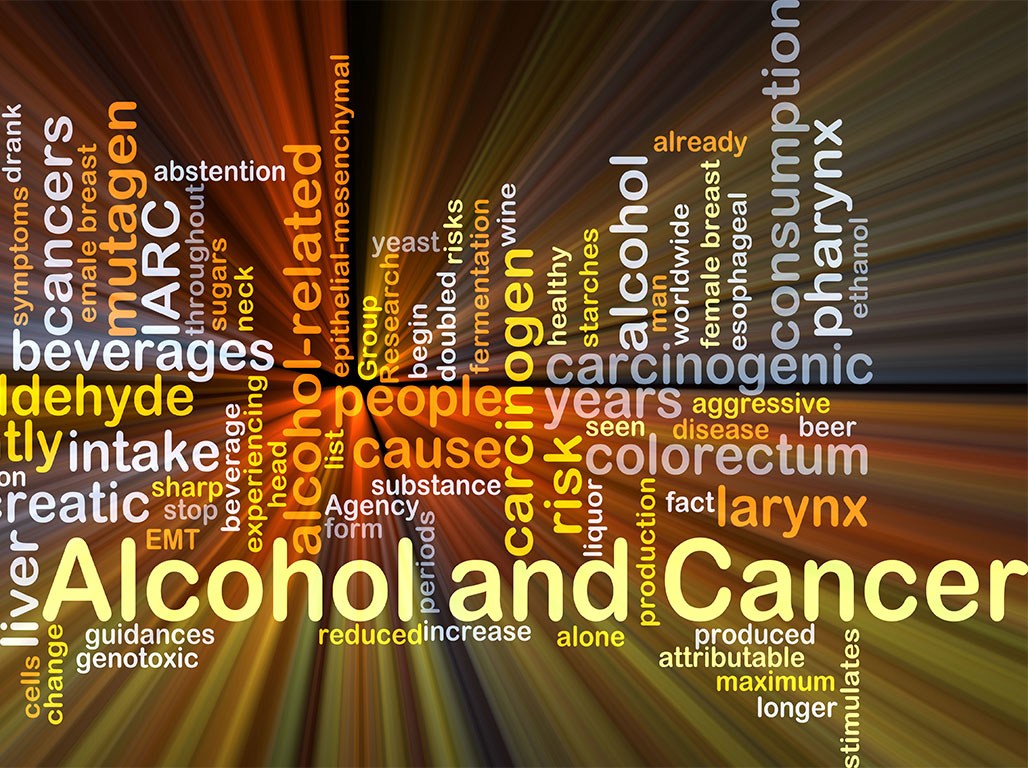 alcohol and cancer graphic