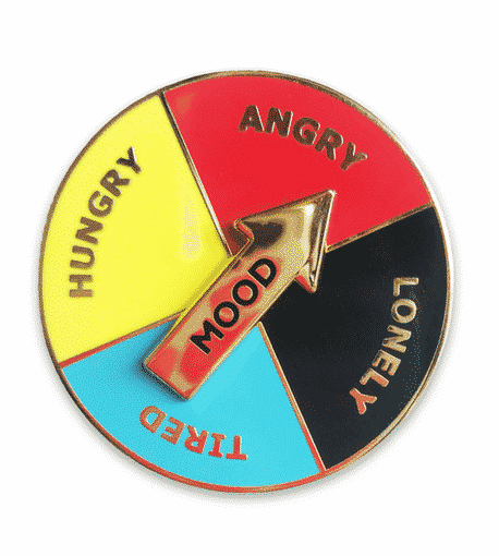 Recovery HAULT Enamel Pin