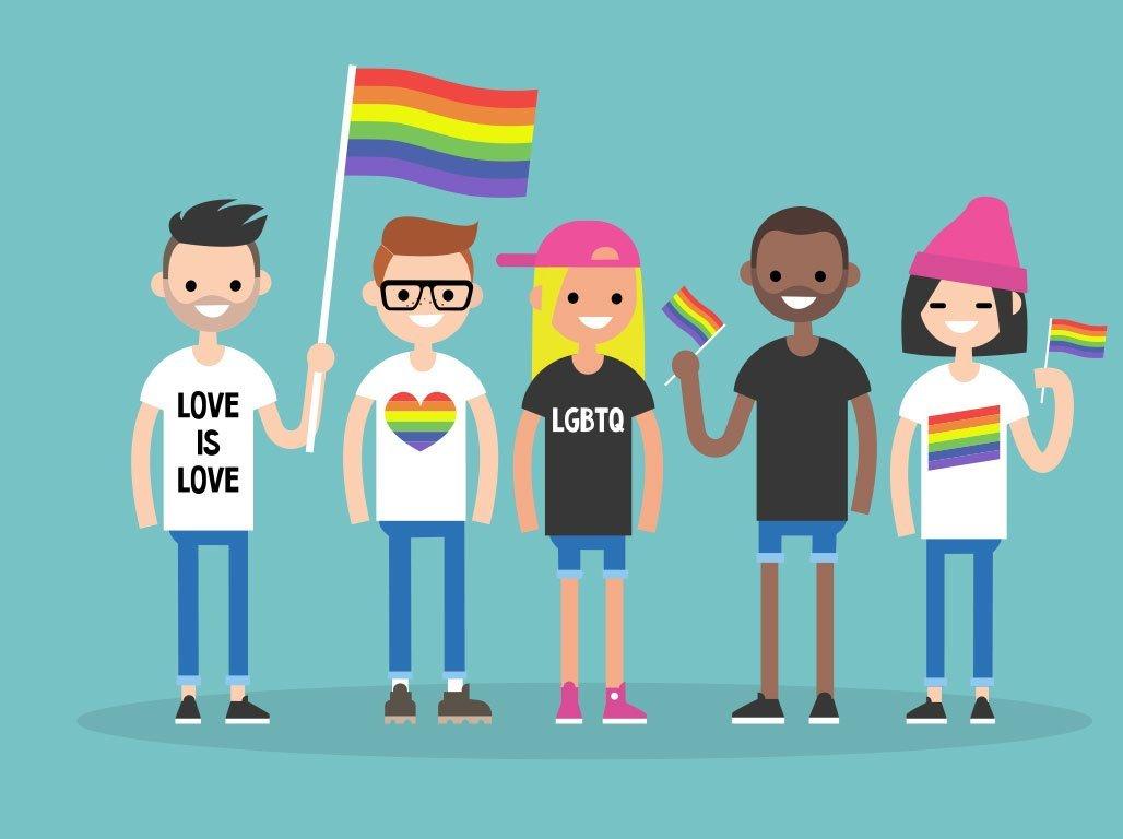 Cartoon LGBTQ