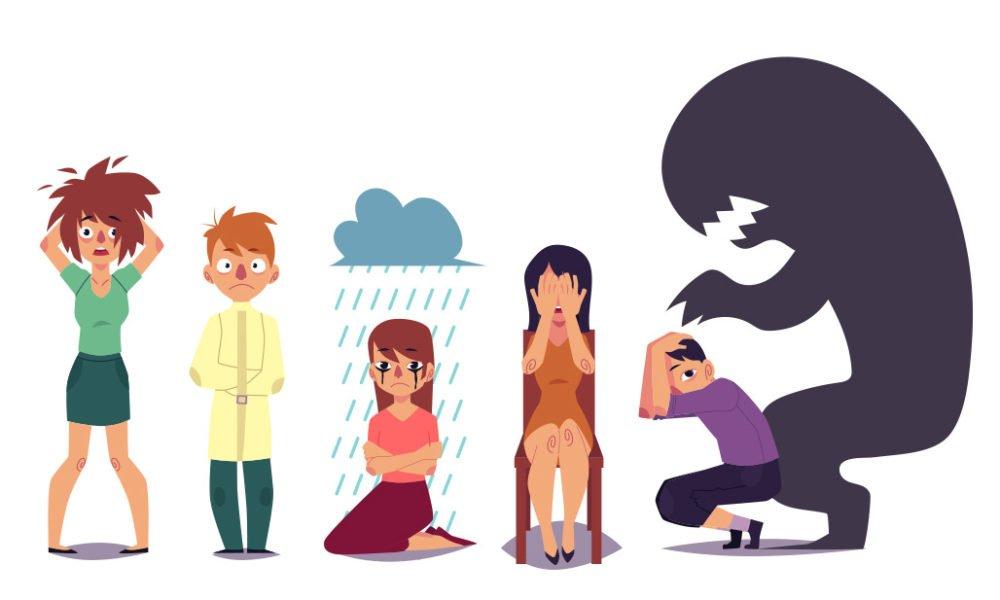 illustration of moods