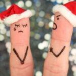 Sad Christmas fingers