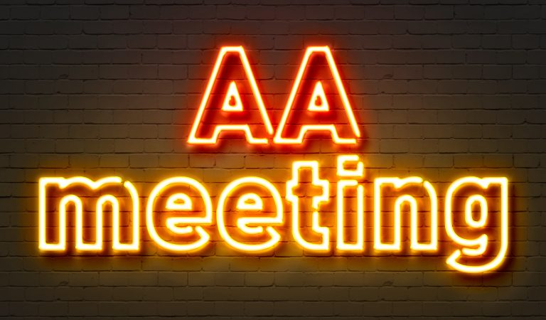My First AA Meeting  –
