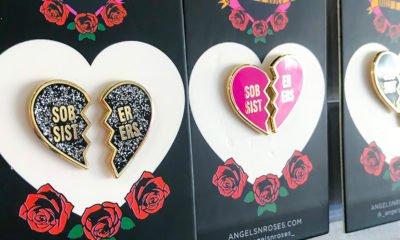 Sober sisters pins
