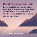 Good Morning Gratitude perspective