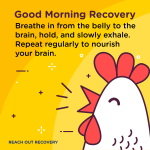 Good morning recovery Breathe