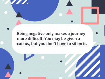 Quote of the day negativity