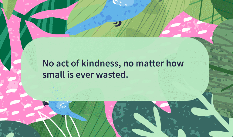 Kindness Quotes: Kindness Is Never Wasted