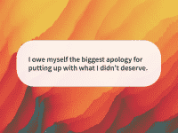 Quote of the day apology
