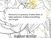 Quote of the day recovery takes patience