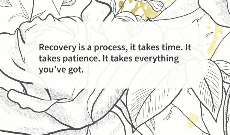 Quote Recovery Takes Patience