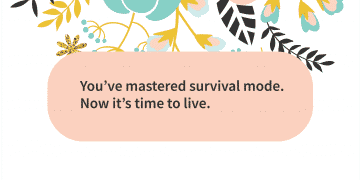 Quote of the day After survival Live