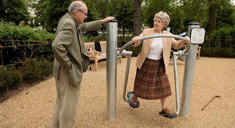 Playgrounds For Older Adults Boost Activity, Decrease Loneliness