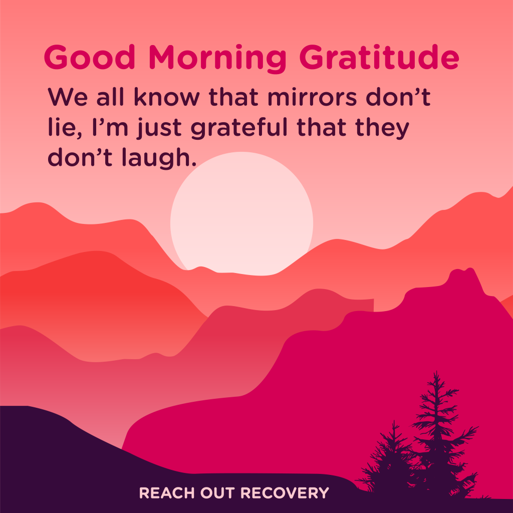 Good morning Gratitude laugh