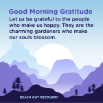 Good morning Gratitude happy