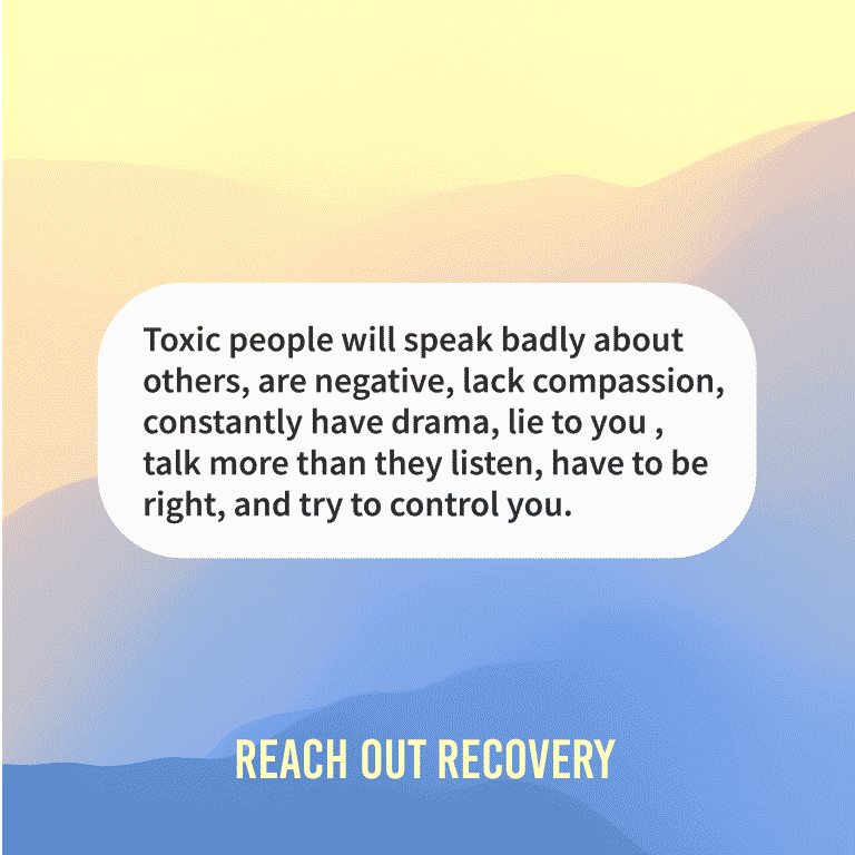 Quote of the day toxic people