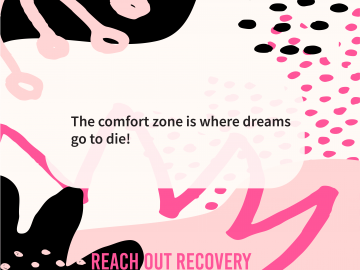 Quote of the day comfort zone