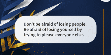 Quote of the day afraid