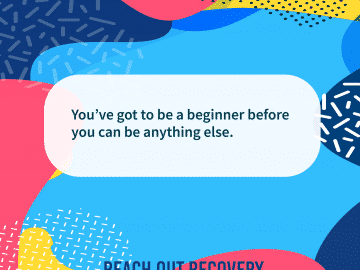 Quote of the day beginner