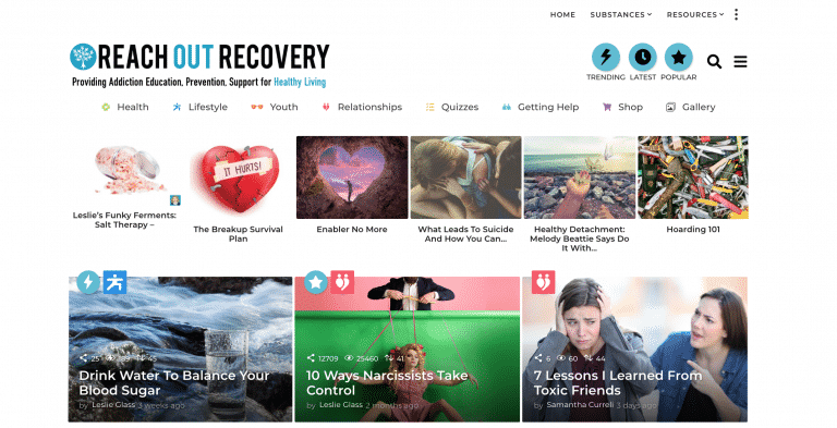 advertising on reach out recovery