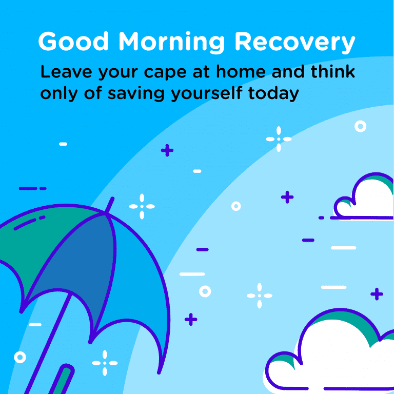 Good Morning Recovery saving