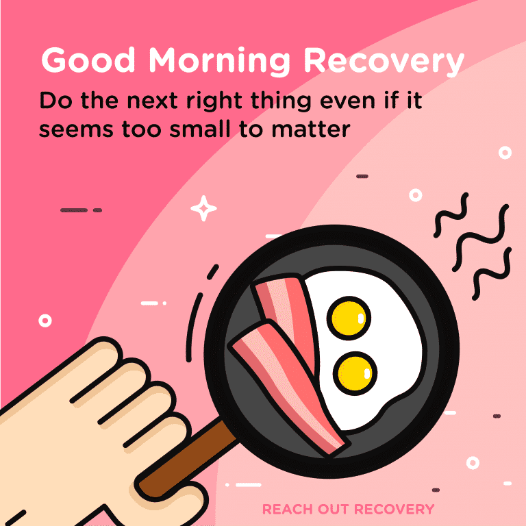 Good Morning Recovery right