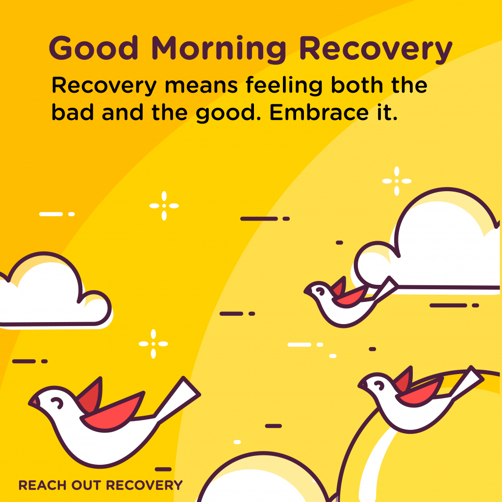Good Morning Recovery Embrace