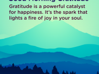 Good morning Gratitude powerful