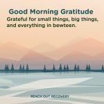 Good morning Gratitude All things