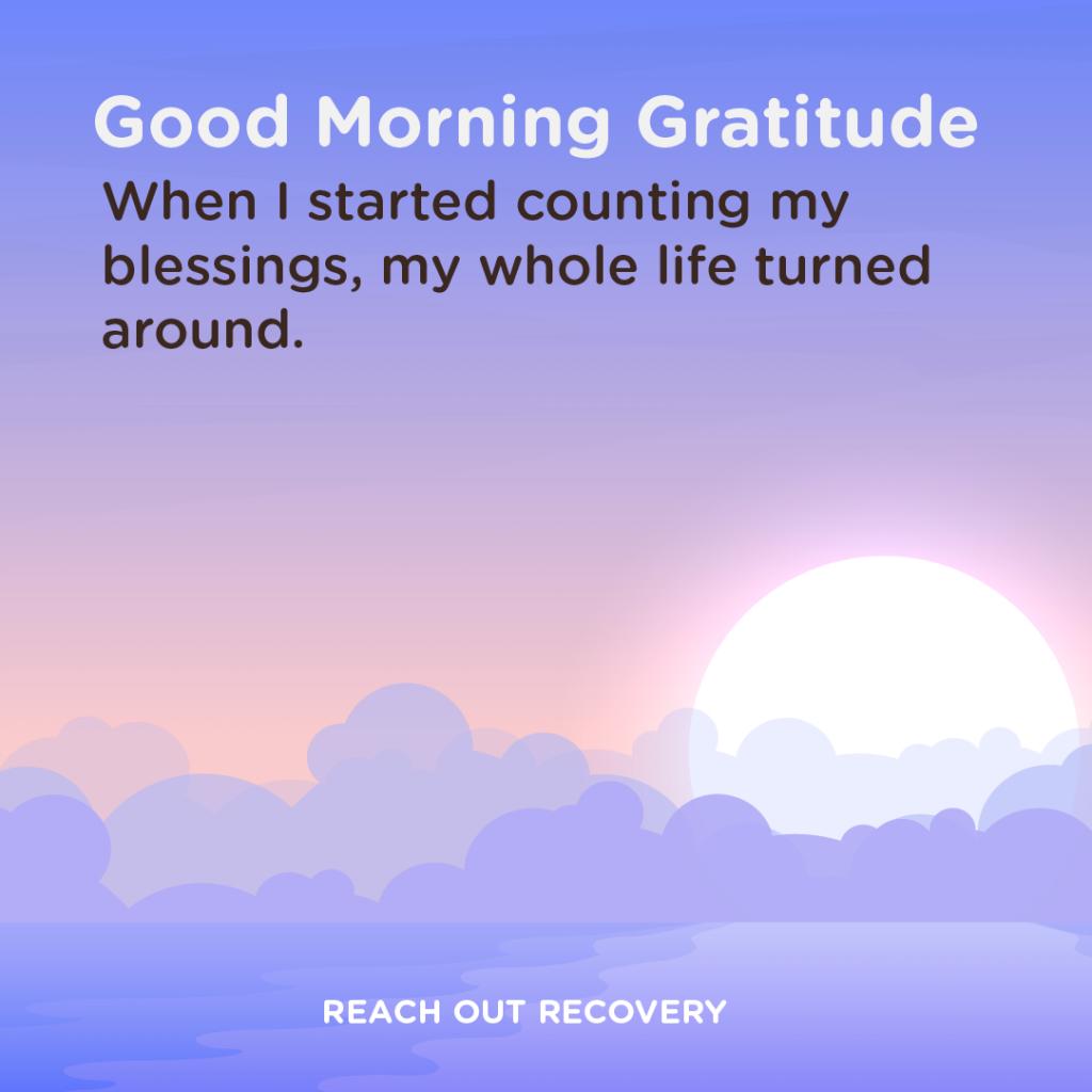 Good morning Gratitude blessings