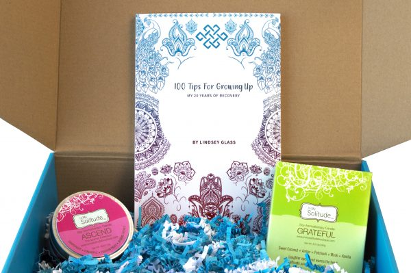 spa day recovery gift box