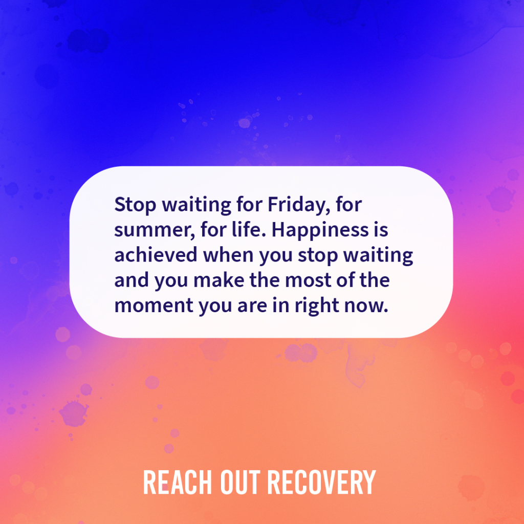Quote of the day stop waiting