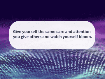 Quote of the day bloom