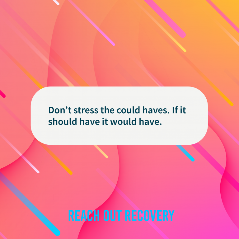 Quote of the day stress