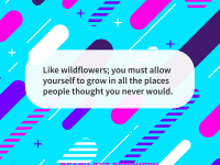 Quote of the day wildflowers