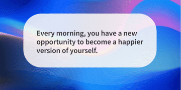 Quote of the day happier
