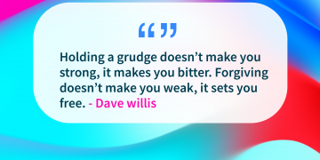 Quote of the day grudge